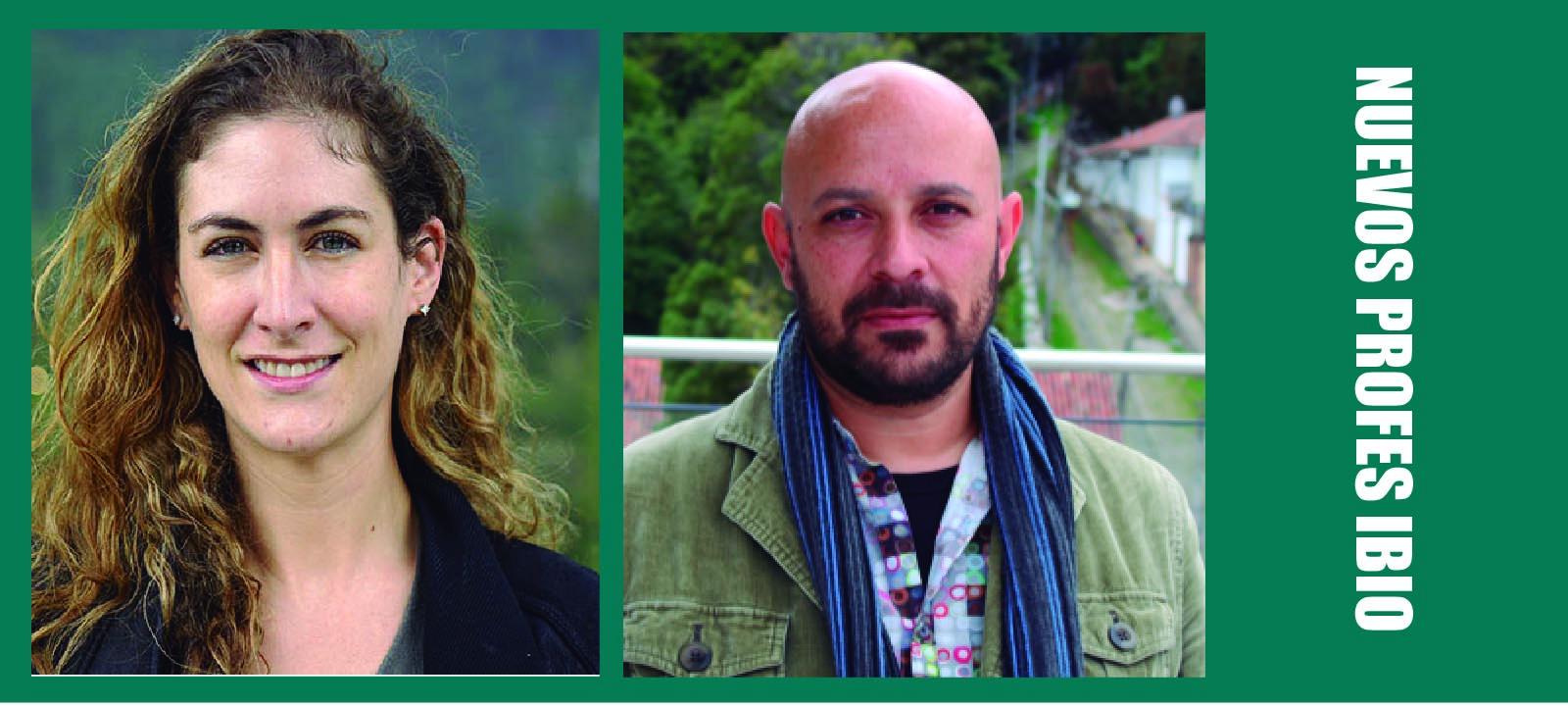Nuevos profesores IBIO